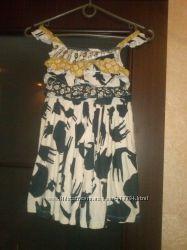 Платье Некст сафари для девочки бу
