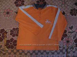 Реглан, футболка с длинным рукавом Amadeo. Рост 98-104 см