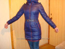 Зимний пуховик на стройную девушку