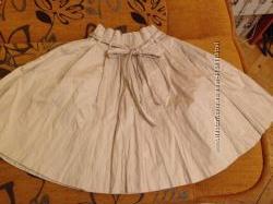 Бежевая пышная юбка H&M
