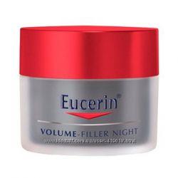 Eucerin Volume-Filler Ночной крем для восстановления контура лица