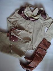 Бежевая ветровка-рубашка ESPRIT