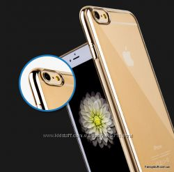 Чехол накладка - бампер TPU для Apple iPhone 66s