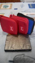 Набор три сумки и один бокс для CDDVD дисков