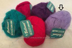 Пряжа для вязания Bellanet MOHAIR Германия, нежно-сиреневого цвета