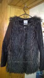 всего 1300 р. шикарное пальто, р-р 46-48