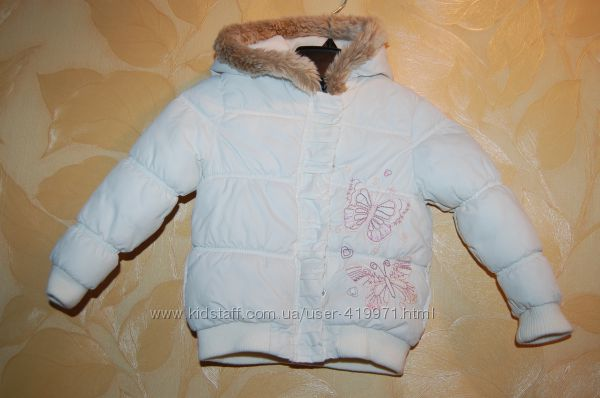 Куртка зимняя Matalan на 2-3 года