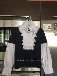 Нарядные рубашки и топы в школу