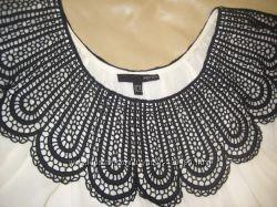 Красивенная блузка с кружевным воротником SM