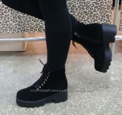 Зимние ботинки. Натуралка. Р 39-25 см