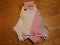 Носочки жіночі короткі 35-38, 39-42, 3 шт