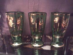 Продам антикварные бокалы ручной работы старая Германия