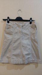Женская фирменная вельветовая юбка H&M р. 36 М состояния новой