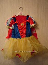 Великолепный детский костюм Белоснежка Disney оригинал напрокат