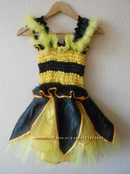 Эксклюзивный костюм пчелки напрокат для девочки р. 122-140