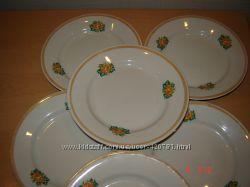 Тарелки десертные, Дружковский фарфоровый завод