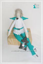 Тильда Маргарет. Ангел домашнего уюта. Интерьерная кукла ручной работы