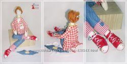 Тильда. Ангел домашнего уюта. Интерьерная кукла ручной работы.