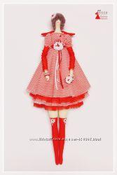 Тильда Тая. Интерьерная кукла ручной работы.