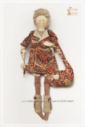 Тильда Малышка Эмма. Кукла ручной работы.