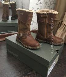 Сапоги Timberland, стелька 18 см, бу