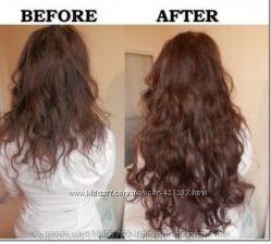 Волосы на заколках затылочная прядь волна 4М