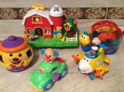 Музыкальные  игрушки Fisher Price, Kiddieland, Ks Kids