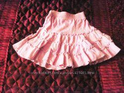 Продаётся юбка розовая летняя