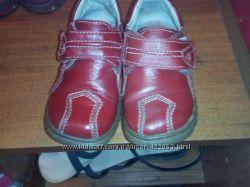Туфли ботиночки кожа