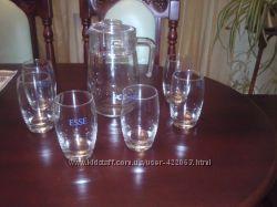 Набор стаканы кувшин новый в коробке