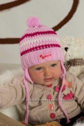 Теплые шапочки  Raster  и комплекты для девочек