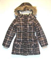 Теплая польская зимняя курточка для девочки 140-146