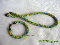 Лабиринт, жгут и браслет
