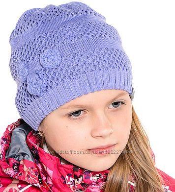 Замечательные демисезонные шапочки Huppa для девочек