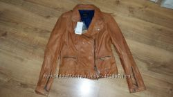 Куртка косуха Stradivarius, р. M, кожа, новая