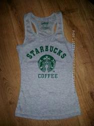 Майка Starbucks, новая, XS-S
