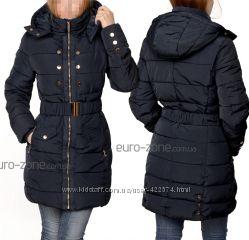 Удлиненная куртка с капюшоном. Италия.