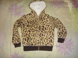 Леопардовая худи-меховушка CHILDRENS PLACE