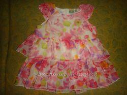Летнее красивое платье р. 80-86