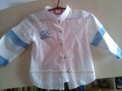 Блузка-рубашка, р. 104 см