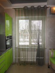 Пошив штор для кухни и столовой. Бровары.