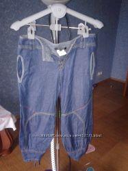 Капри джинсовые Gf. Ferre р. 44 б. у. Оригинал. Состояние отличное