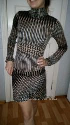 Платье женское, Отличное состояние, смотрится очень круто, стройнит