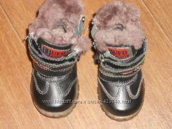 Ботинки зимние 12 см бу на мальчика