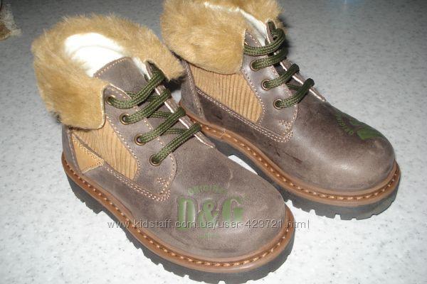 Ботинки кожа D&G  DOLCE & GABBANA
