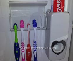 Автоматический дозатор зубной пасты и Держатель щетки