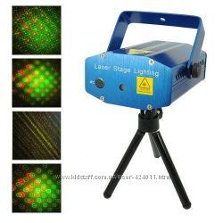 Мини лазерный проектор лазерный проектор звездное небо Mini Laser stage lig