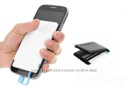 Ультратонкий портативний зовнішній акумулятор Power Bank кредитка 1800 мАг