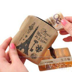Гаманець ретро Франція візитниця