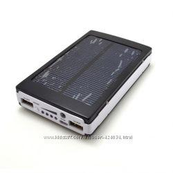 Солнечная батарея аккумулятор Power Bank 6000 мАч